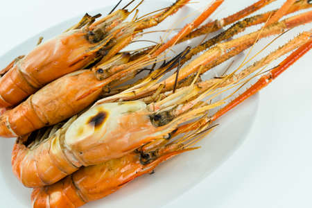 parch: Grilled shrimp to giant freshwater prawn