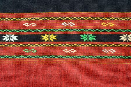 thai silk: Thai silk textile Stock Photo