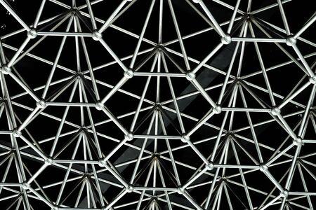 pyramid shape: Iron pyramid shape background