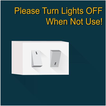 switch on: Light switch
