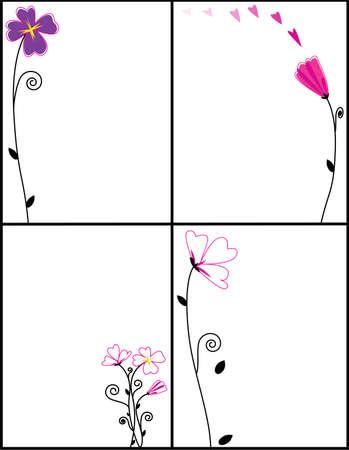 flower border frames