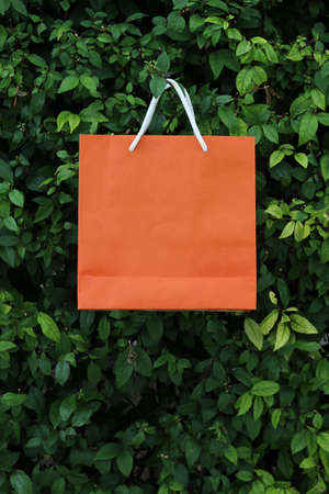 recyclable paper bag for green