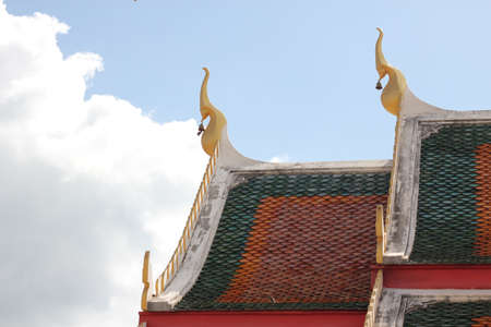 grand palace and temple  Stock Photo