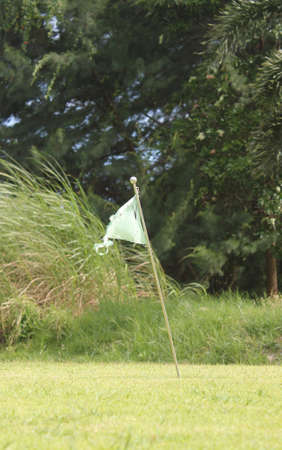 golf course training Stock Photo