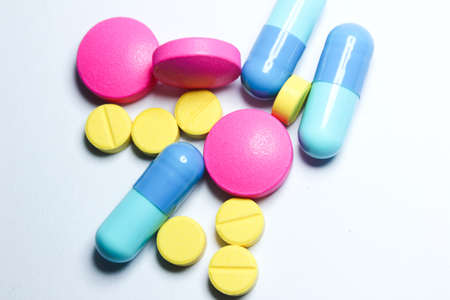 royalty free images: Pills - Capsules Close-up