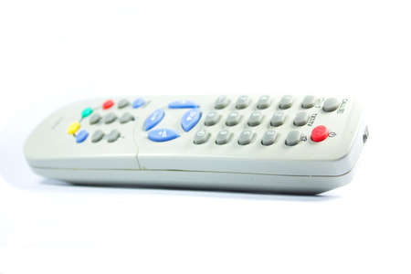 remote control  on a white background photo