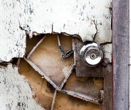 door damage