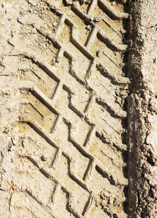 Wheel tracks Stock Photo - 16969841