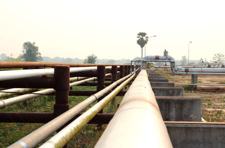 Pipeline transportation Oil, natural gas or water on long distances