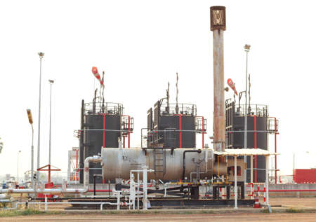 boiler for heat crude in oil and gas industrial  photo