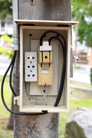 electrical breaker panel  photo