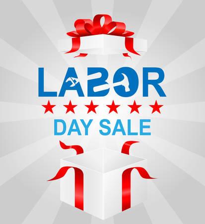 Labor day sale Vector