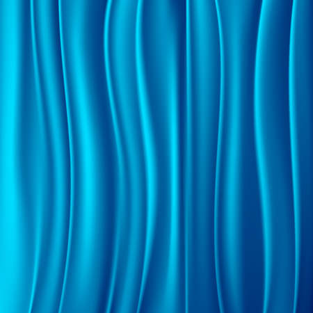 Blue curtain abstract background
