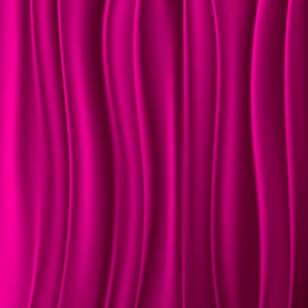 Magenta gordijn achtergrond Stock Illustratie