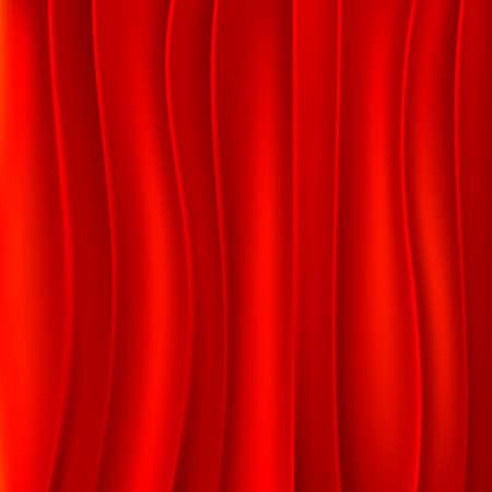 fondo rojo: Fondo de telón rojo Vectores