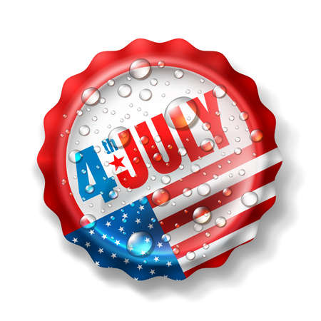 Independence day 4 th july.Happy USA Independence Day 4 th July Stock Photo