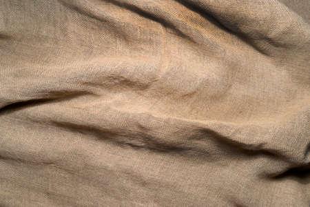 sackcloth: Sackcloth background wrinkled surface. Stock Photo