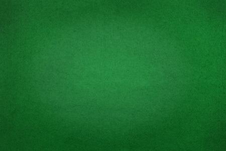 Pokertafel voelde achtergrond in groene kleur Stockfoto