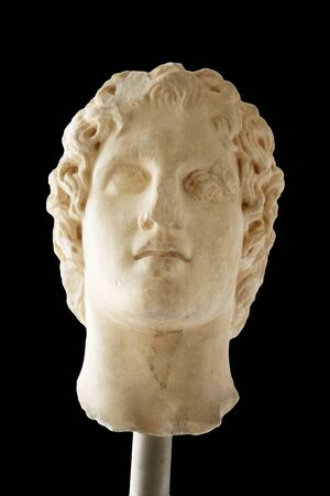alexander the great: Portrait of Alexander the great