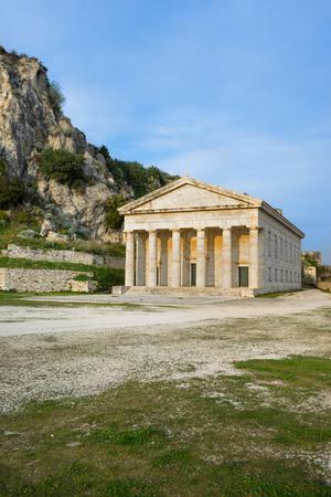 george: Church of Saint George, in the Old Fortress at Corfu island, Greece