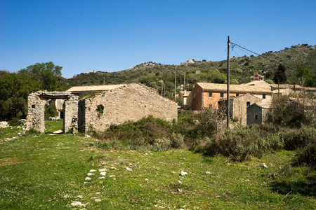 Old Perithia, Corfus oldest village, Greece