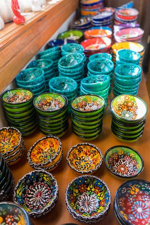 Colorful tiles, Konya - Turkey