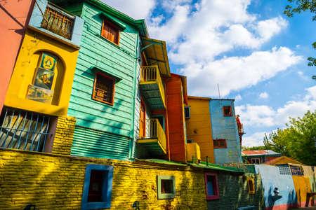 La Boca, Colourful Houses