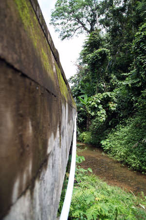 under bridge photo