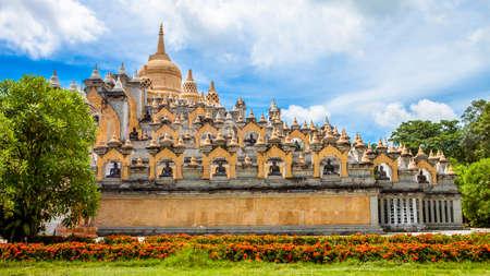 credo: Buddhist relic shrine Thailand Stock Photo