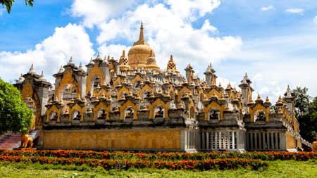 Buddhist relic shrine Thailand Stock Photo