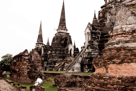 Ayutthaya is old capital of Thailand photo