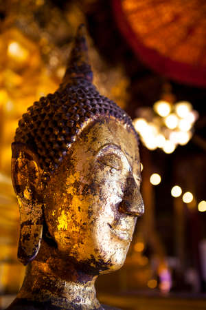 buddhists: Buddha is revered by Buddhists. To commemorate the Buddha Stock Photo