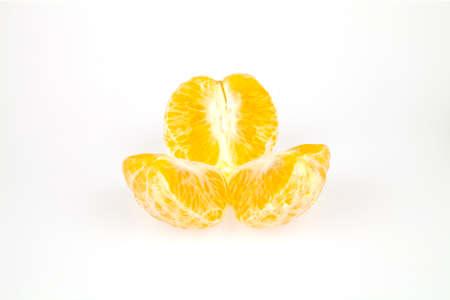 mot: Orange Bang Mot very sweet taste of Thailand on a white background.