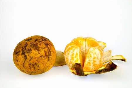 mot: Orange \Bang Mot\ very sweet taste of Thailand on a white background.