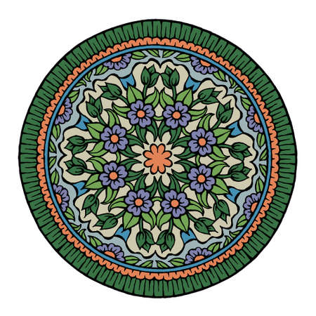 mandala: Floral mandala Illustration