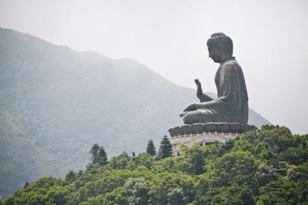 big island: big buddha at hong kong