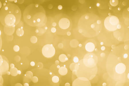 abstract golden background with light bokeh effect