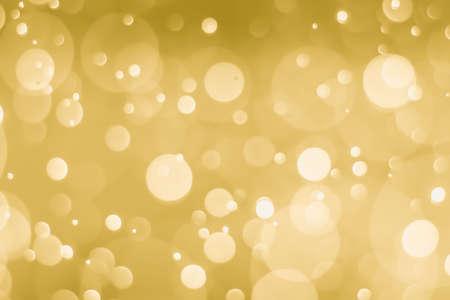abstrait doré avec effet bokeh léger