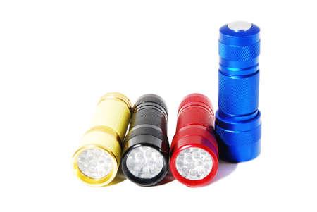 flash light: Led Flash Light 3 Colour