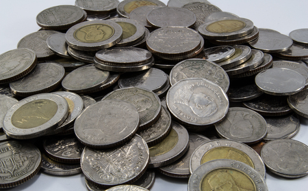 coins of Thailand photo