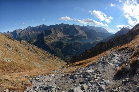 High tops of Polish Tatra Mountains National Park in Zakopane Poland Zdjęcie Seryjne