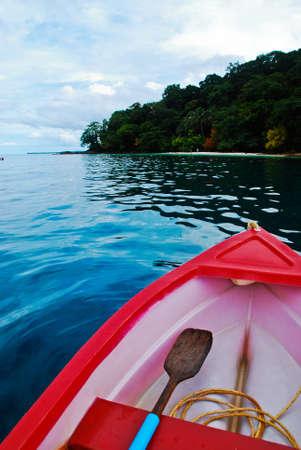 chang: rowboat at Koh Chang