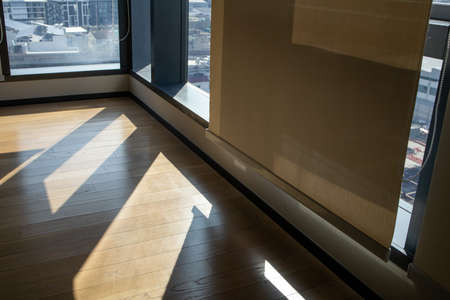 Shade shadow of window at Co-Working Space 免版税图像 - 157109432