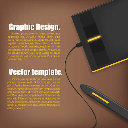 business template: mouse pen business Template.