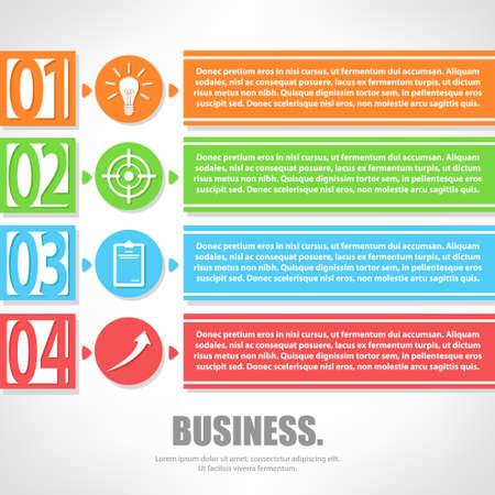 business template: Business Template Design idea.