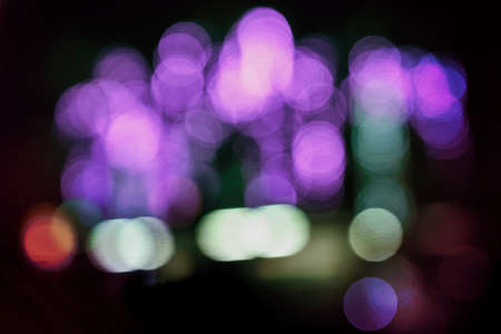 Bokeh multi color party lights background