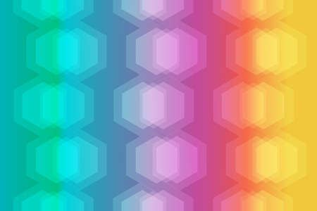 Modern abstract background with spectrum color. Vector and Illustration.