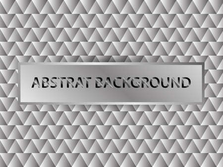 Modern abstract background with gray color. Vector and Illustration.