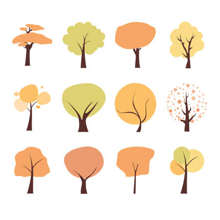 Herbst Baum  Standard-Bild - 65493370