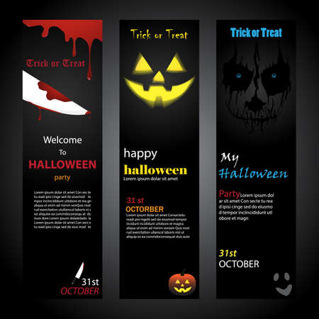 haunt: halloween invitation card